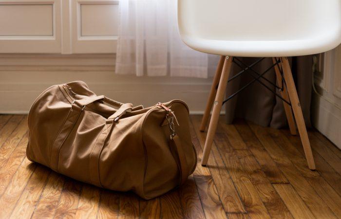Soft Brown Bag